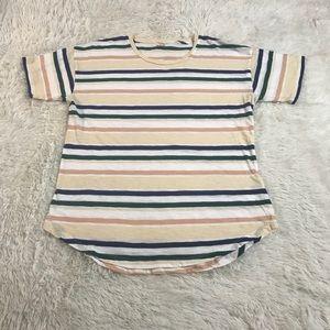 Madewell Women's Shirt Size Medium striped